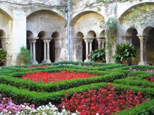 SAINT-PAUL DE MAUSOLE - VAN GOGH - intérieur du cloître