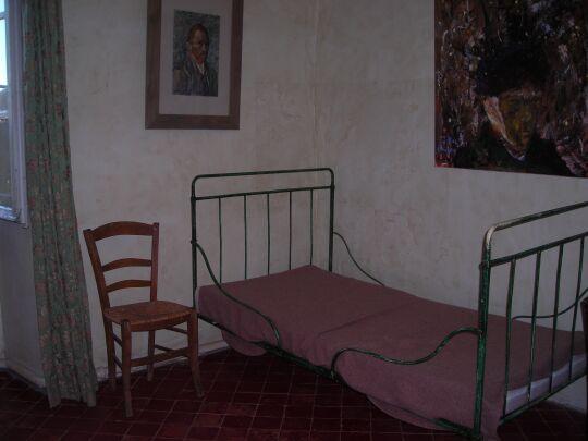Chambre de Van Gogh à Saint-Paul de Mausole - Saint-Rémy de Provence