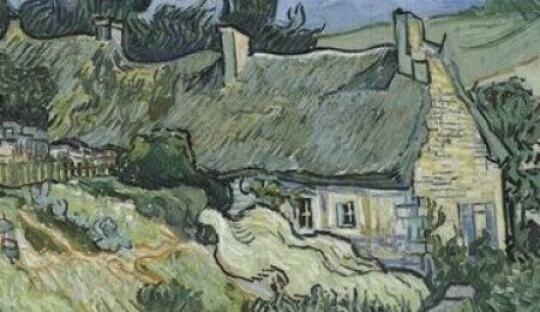Chaumes de cordeville auvers sur oise 1890 vincent - Analyse du tableau la chambre de van gogh ...